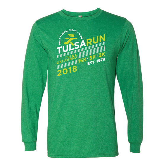 Tulsa Run Dash LS Tee