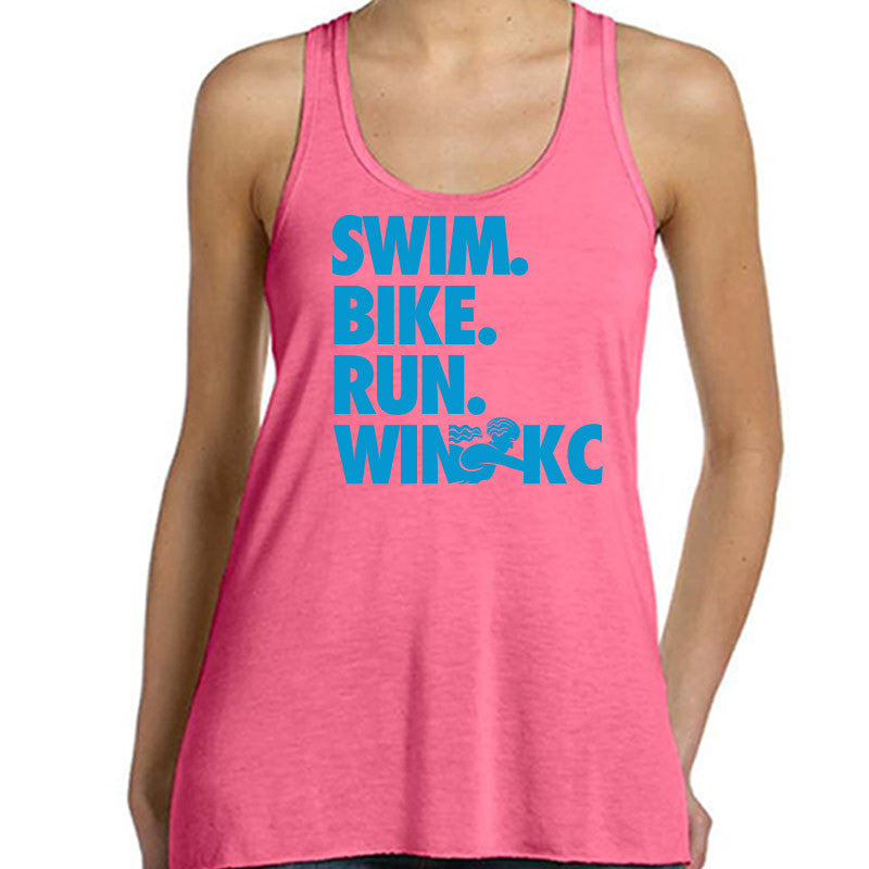 Official WIN For KC Triathlon Finisher Bella Tank Top