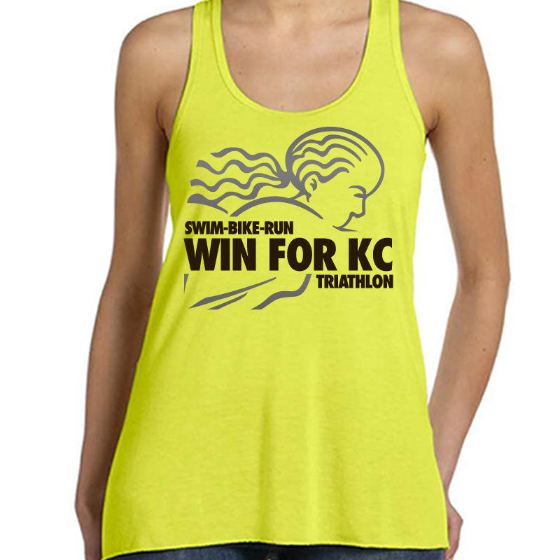 WIN For KC Triathlon Option 2 Bella Tank