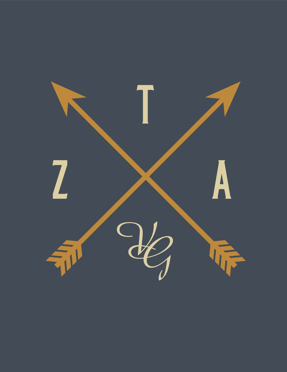 ZETA Crossed Arrow Design