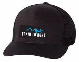 Train to Hunt Pro Back Hat - SOLD OUT