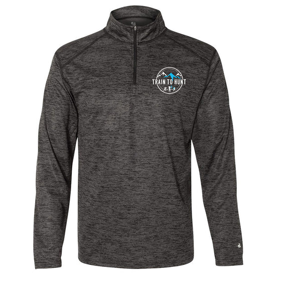 Men's Black Quarter Zip