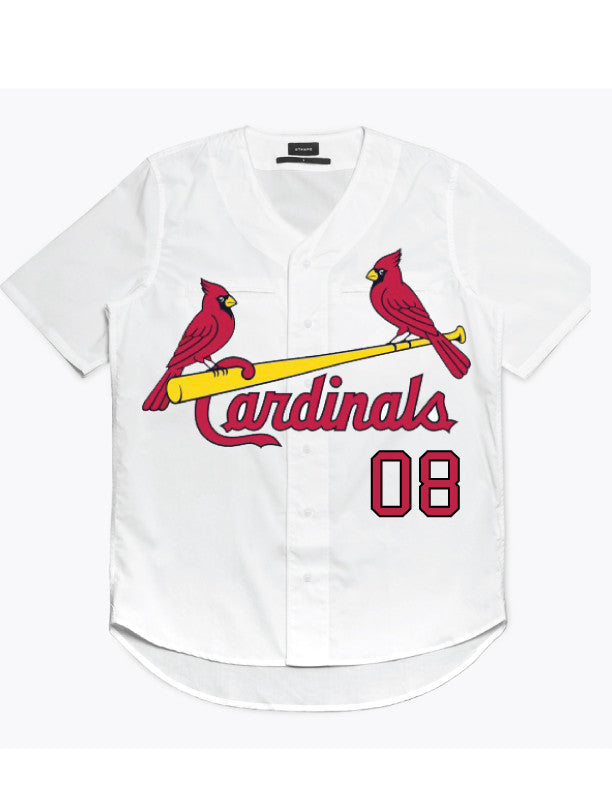 Team Carli Cardinals Baseball Jersey