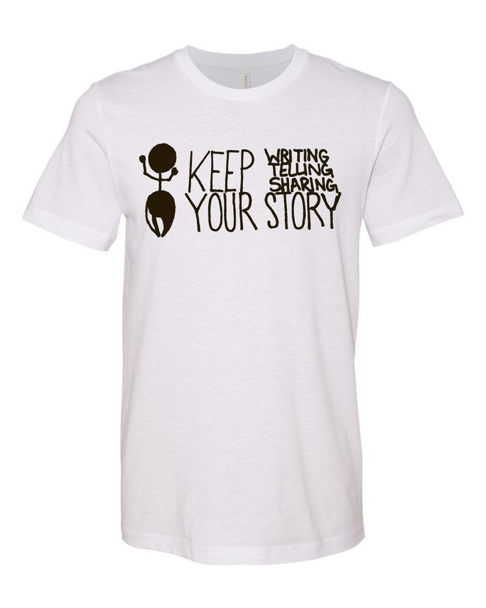 Keep Your Story Premium Tee
