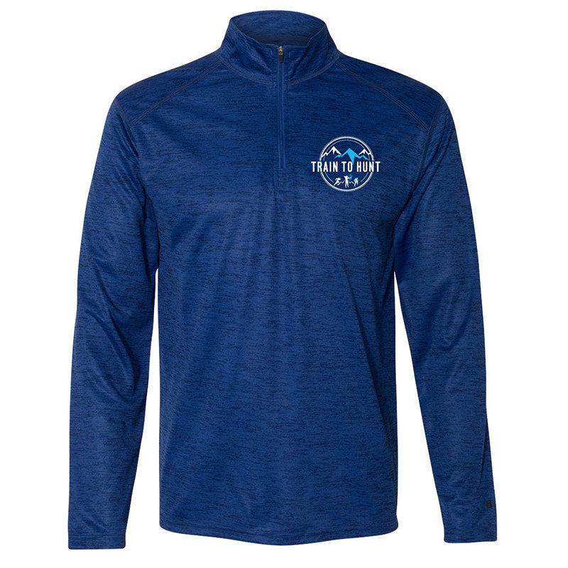 Men's Blue Quarter Zip