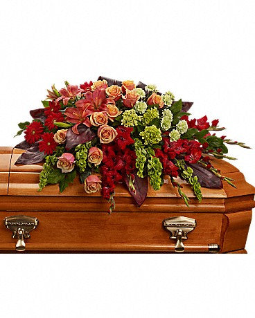 Casket Tribute at Fleuristic Flowers Gift Shop Guelph