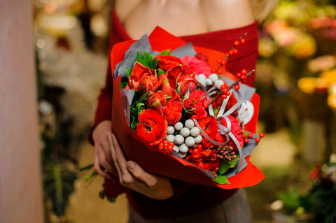 Romantic Red Bouquet