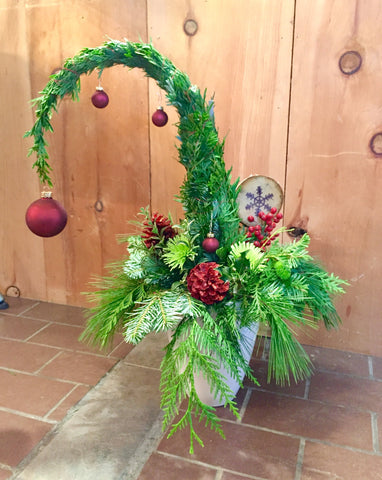 Grinch Holiday Tree Workshop Dec.8th