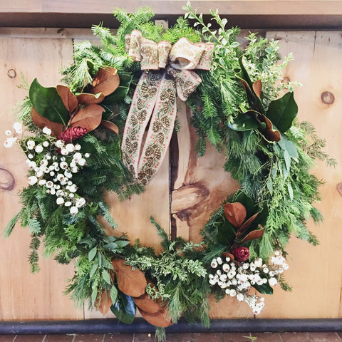 Whimsical Woodsy Wreath, Thursday December 5th
