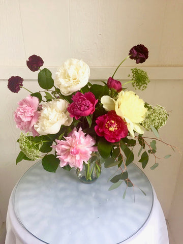 Peony Floral Design Sat. June 15th