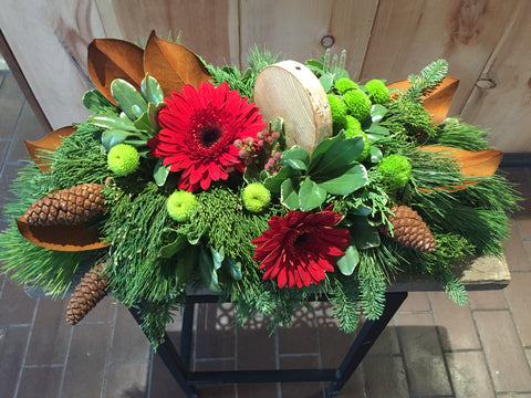 Fireside Centrepiece at Fleuristic Flowers Gift Shop Guelph