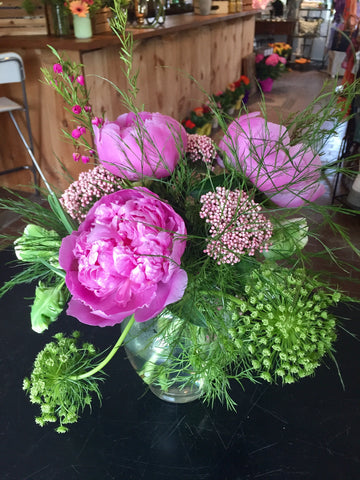 Perfect Peonies at Fleuristic Flowers Gift Shop Guelph
