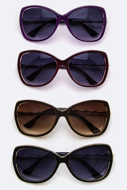 Bamboo Temple Butterfly Sunglasses