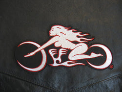 OBB/Patch - Motorcycle Logo Embroidered Patch