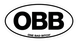 OBB/Sticker - NEW OBB STICKER - OVAL