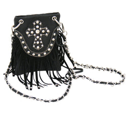 ACC/Purse - Cross and Fringe Purse