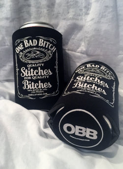 OBB - One Bad Bitch JD Style Can Koozie