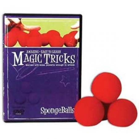 Easy to Learn Sponge Ball Magic Set (DVD + Sponge Balls)