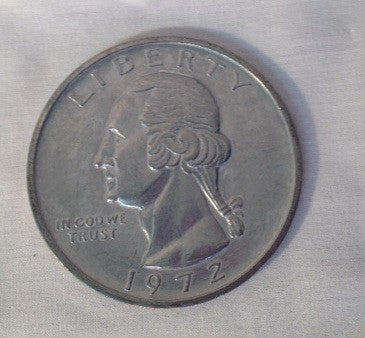 Large Metal Quarter