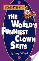 Book, Worlds Funniest Clown Skits