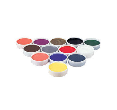 Mehron Grease Paint Color Cups,   .5 oz