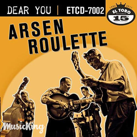 Arsen Roulette - Dear You CD - CD