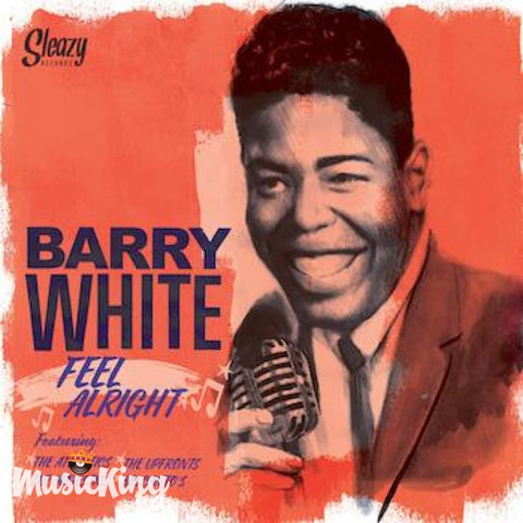 Barry White - Feel Alright - LP - Vinyl