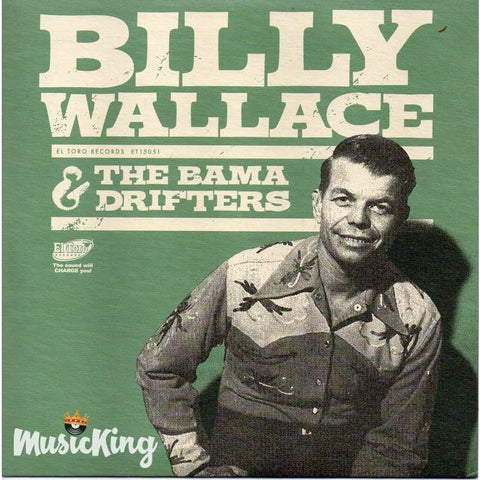 Billy Wallace & The Bama Drifters - Vinyl 45 Rpm Ep - Vinyl
