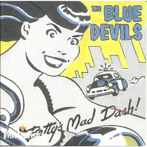 Blue Devils - Bettys Mad Dash - CD