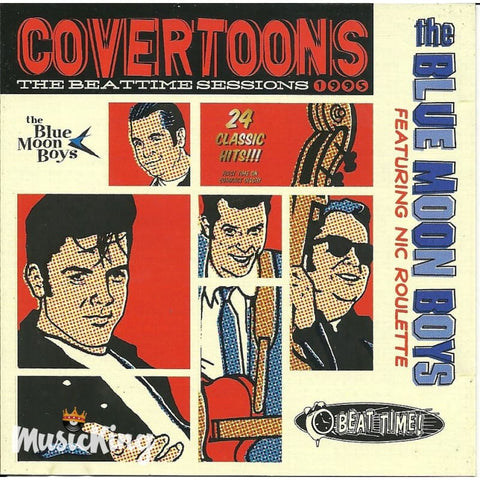 Blue Moon Boys - Covertoons - CD