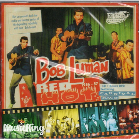 Bob Luman - Red Hot 1956-57 - & Dvd - CD