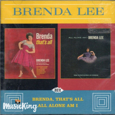 Brenda Lee - Thats All - All Alone Am I - CD
