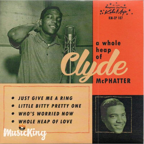 Clyde Mc Phatter - A Whole Heap Of - Vinyl 45 Rpm - Vinyl