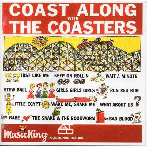 Coasters - Coast Along With The Coasters - Cd