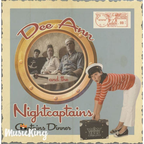 Dee Ann and the Nightcaptains - Captains Dinner - CD - CD
