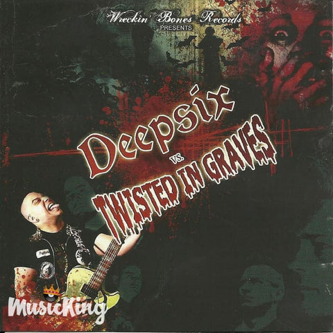 Deepsix Vs Twisted In Graves CD at £8.50