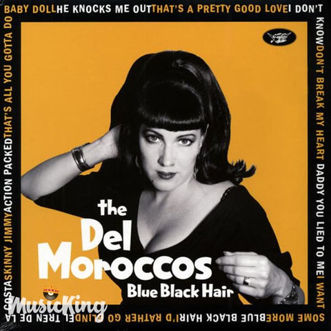 Del Moroccos - Blue Black Hair Vinyl LP - Vinyl