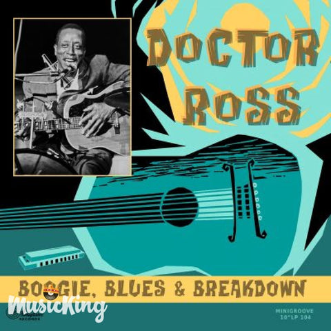Doctor Ross - Boogie Blues & Breakdown 10 inch LP Vinyl - Vinyl