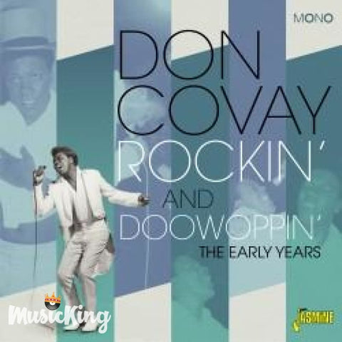 DON COVAY - ROCKIN' AND DOOWOPPIN' - THE EARLY YEARS CD - CD