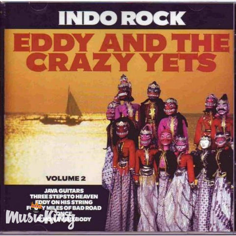 Eddy And The Crazy Yets - Indo Rock Vol 2 - CD
