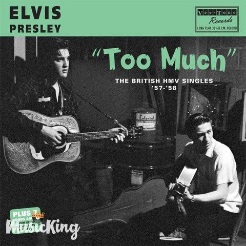 Elvis Presley - Too Much The British Hmv Singles 57 - 58 12 Vinyl - Vinyl