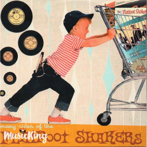Flatfoot Shakers - Many Sides Of The - CD