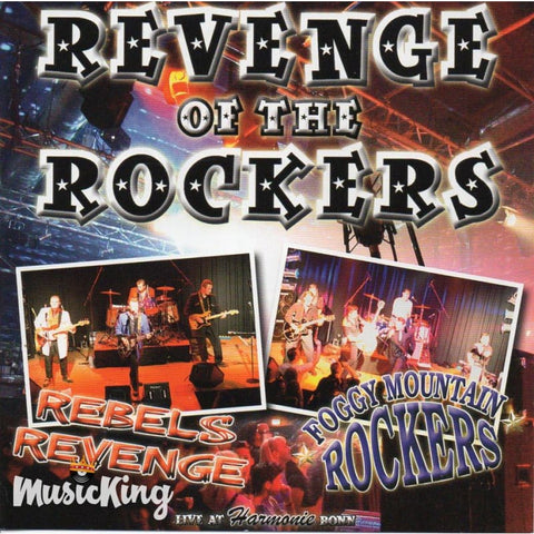 Foggy Mountain Rockers + Rebels Revenge - Revenge Of The Rockers - CD