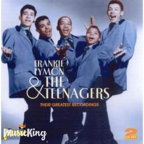 FRANKIE LYMON AND THE TEENAGERS - THEIR GREATEST RECORDINGS DOUBLE CD - CD