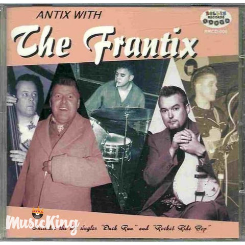 Frantix - Antrix With CD - CD