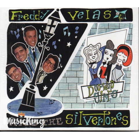 Freddy Velas And The Silvertones - Doo-Wop Girls CD - Digi-Pack