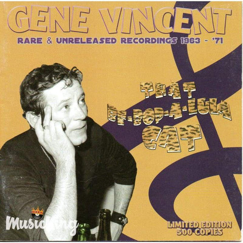 Gene Vincent - That Be-Bop-A-Lula Cat CD - CD