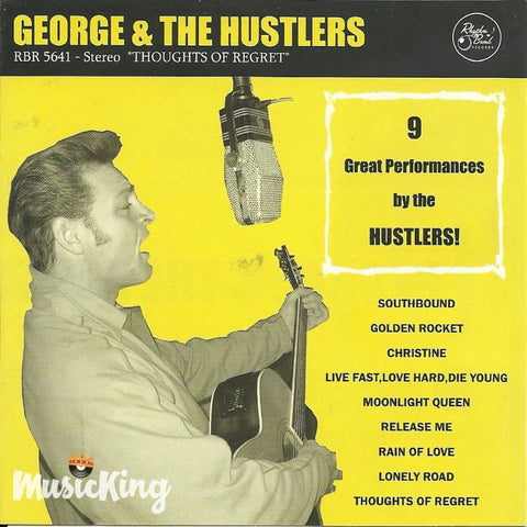 George & The Hustlers - Thoughts Of Regret - CD