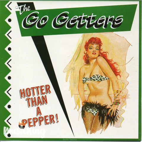 Go Getters - Hotter Than Pepper - Cd