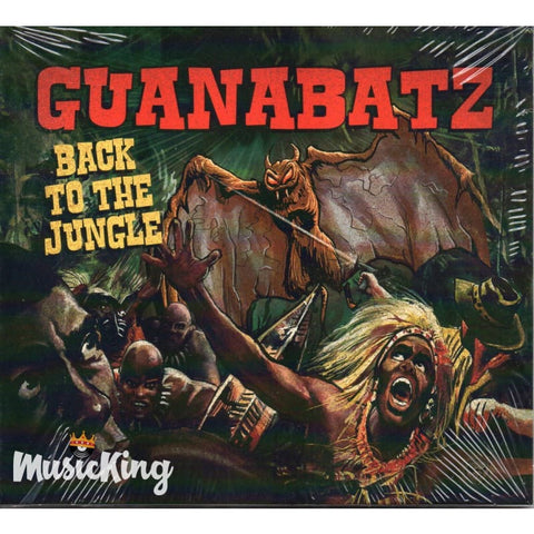 GUANABATZ : Back To The Jungle 12inch LP Vinyl at £12.00